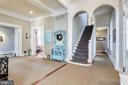Grand Foyer/Central Hall area - 61 COLLEGE AVE, ANNAPOLIS