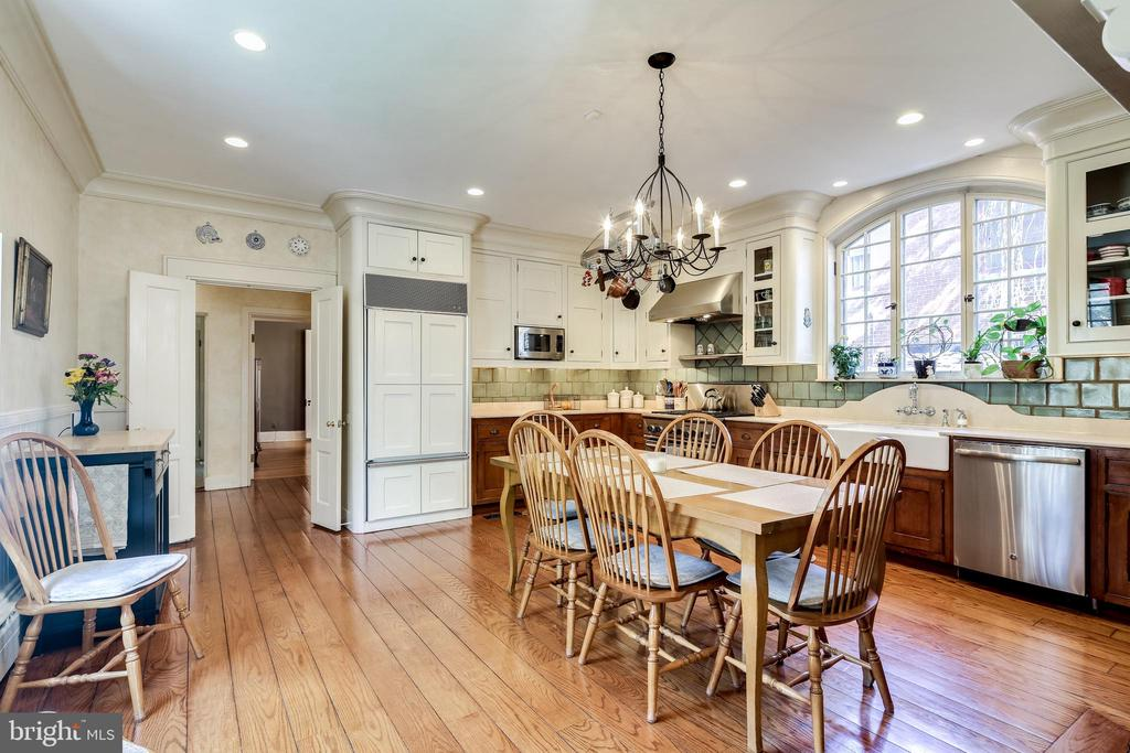 Gourmet Kitchen with eat-in area - 61 COLLEGE AVE, ANNAPOLIS
