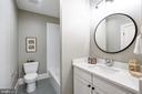 5th bath on lower level - 4856 33RD RD N, ARLINGTON