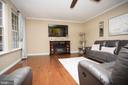 Main level living area - 26 WAGONEERS LN, STAFFORD