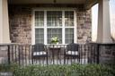 Cozy front porch - 26 WAGONEERS LN, STAFFORD