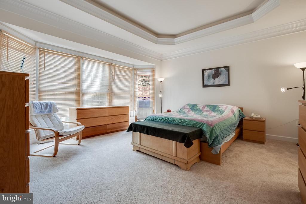 Sun-filled master suite - 1210 MARSEILLE LN, WOODBRIDGE