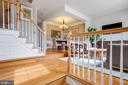 Gleaming hardwood floors - 7506 SHIRLEY HUNTER WAY, ALEXANDRIA