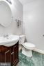 Main level powder room - 7506 SHIRLEY HUNTER WAY, ALEXANDRIA