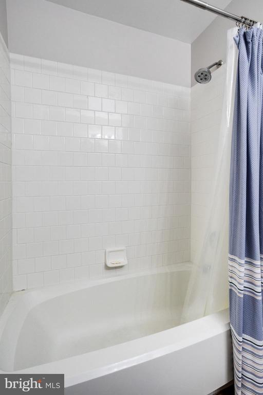 Lower level 3rd full bath tub - 7506 SHIRLEY HUNTER WAY, ALEXANDRIA