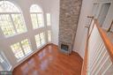 Family Room w/New Wide Plank Flooring - 42764 RIDGEWAY DR, BROADLANDS