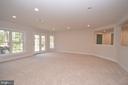 Huge Rec Room w/New Carpets - 42764 RIDGEWAY DR, BROADLANDS