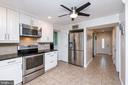Beautiful kitchen w/stainless steel appliances - 1015 MAGOTHY PARK LN, ANNAPOLIS