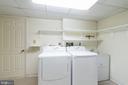 Laundry room - 4522 FOXHALL CRES NW, WASHINGTON