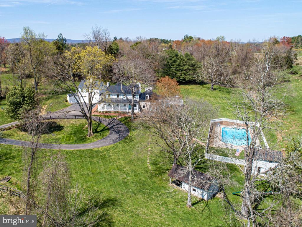 Aerial - Front - 14774 MILLTOWN RD, WATERFORD