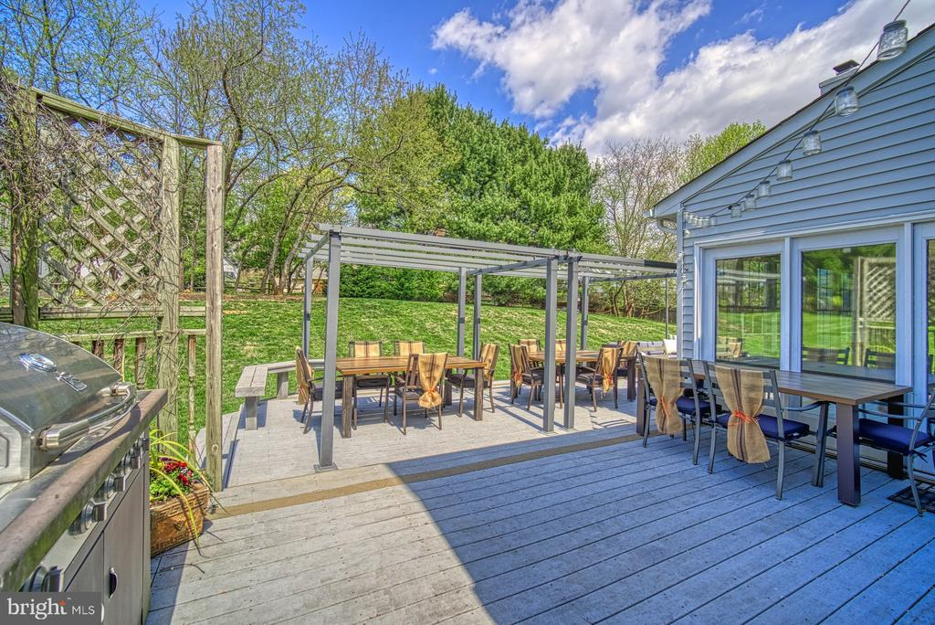 LARGE DECK - 10896 HUNTER GATE WAY, RESTON