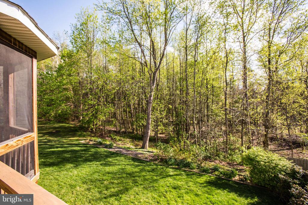 Peaceful views right in the backyard - 46 WILTSHIRE DR, STAFFORD