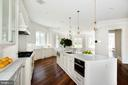 6 exotic marble workspaces. Double refrigerators - 3301 FESSENDEN ST NW, WASHINGTON