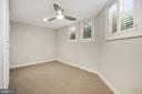 Lower level bedroom with plenty of natural light. - 4822 HAMPDEN LN #R-6, BETHESDA