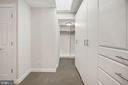 Walk in closet - 4822 HAMPDEN LN #R-6, BETHESDA