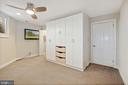 Lower level bedroom - 4822 HAMPDEN LN #R-6, BETHESDA