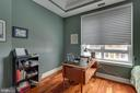 Den with large window overlooking plaza - 1915 TOWNE CENTRE BLVD #410, ANNAPOLIS