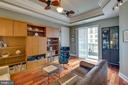 Living Room with sliding door to balcony - 1915 TOWNE CENTRE BLVD #410, ANNAPOLIS