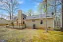Rear View - 11709 WILDERNESS PARK DR, SPOTSYLVANIA