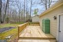 Back Deck - 11709 WILDERNESS PARK DR, SPOTSYLVANIA