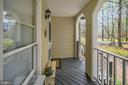 Front Porch view to Entry Door - 11709 WILDERNESS PARK DR, SPOTSYLVANIA
