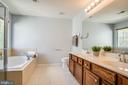 Master bath with dual vanities - 46 WILTSHIRE DR, STAFFORD