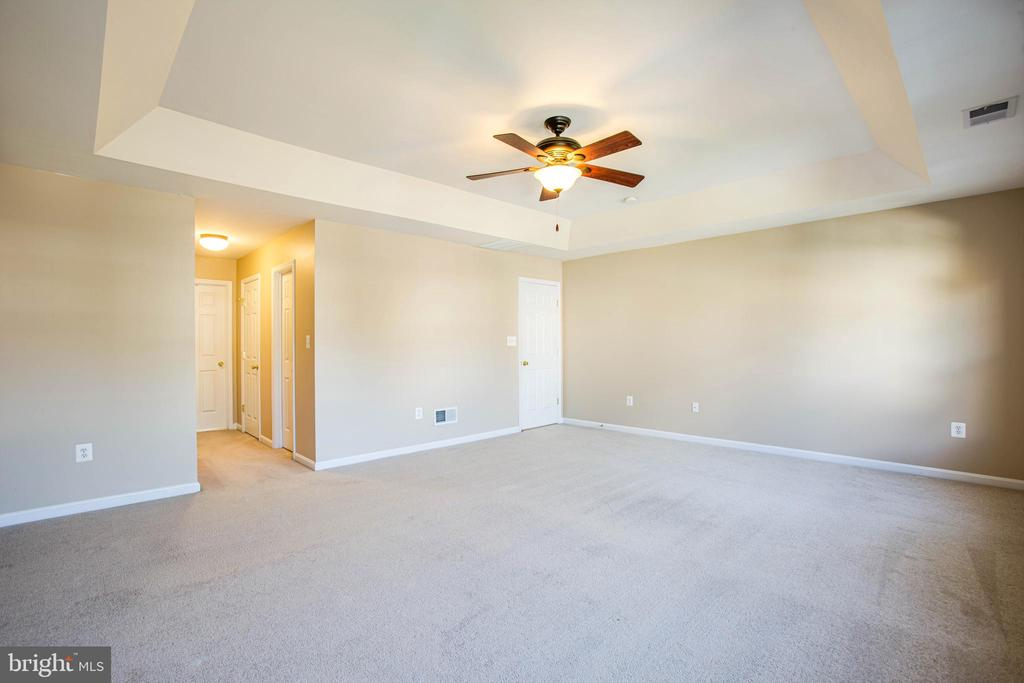 Two walk-in closets plus a linen closet in master - 46 WILTSHIRE DR, STAFFORD