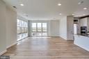 Living Room/Dinning Room - 11200 RESTON STATION BLVD #501, RESTON