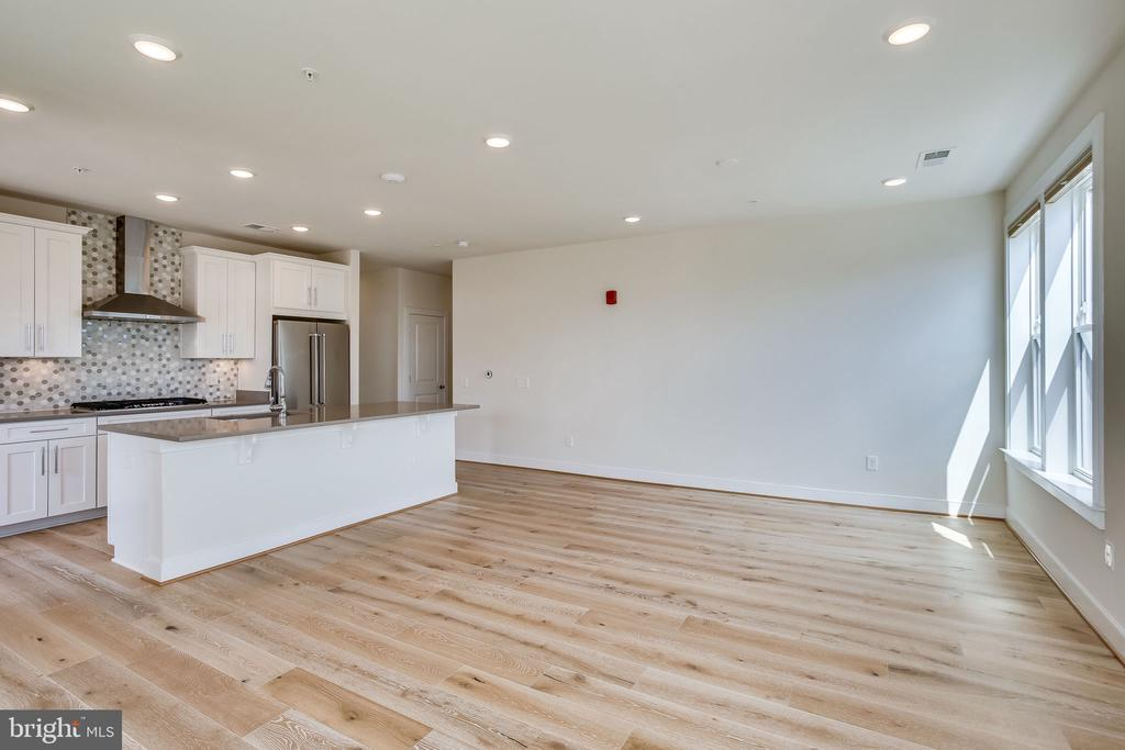 Kitchen/Living Room/Dinning Room - 11200 RESTON STATION BLVD #501, RESTON