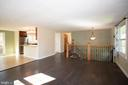 Main Level - 12903 MELVILLE LN, FAIRFAX