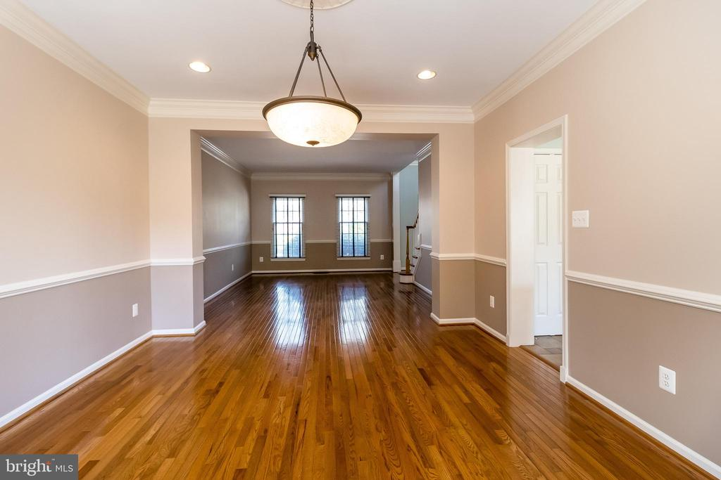 Dining Room with recessed lighting - 1508 JUDD CT, HERNDON