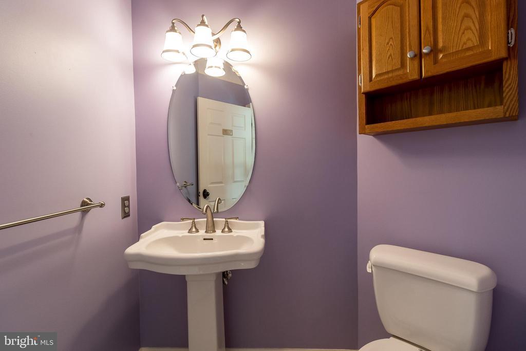 Updated Powder Room - 1508 JUDD CT, HERNDON