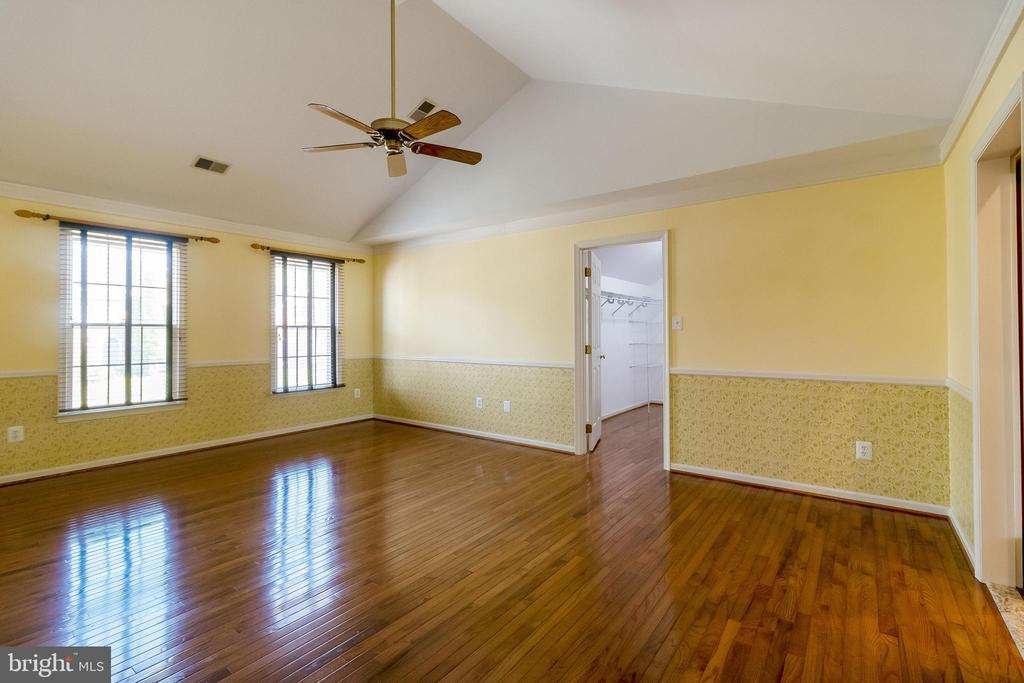 Cathedral ceiling and fan - 1508 JUDD CT, HERNDON