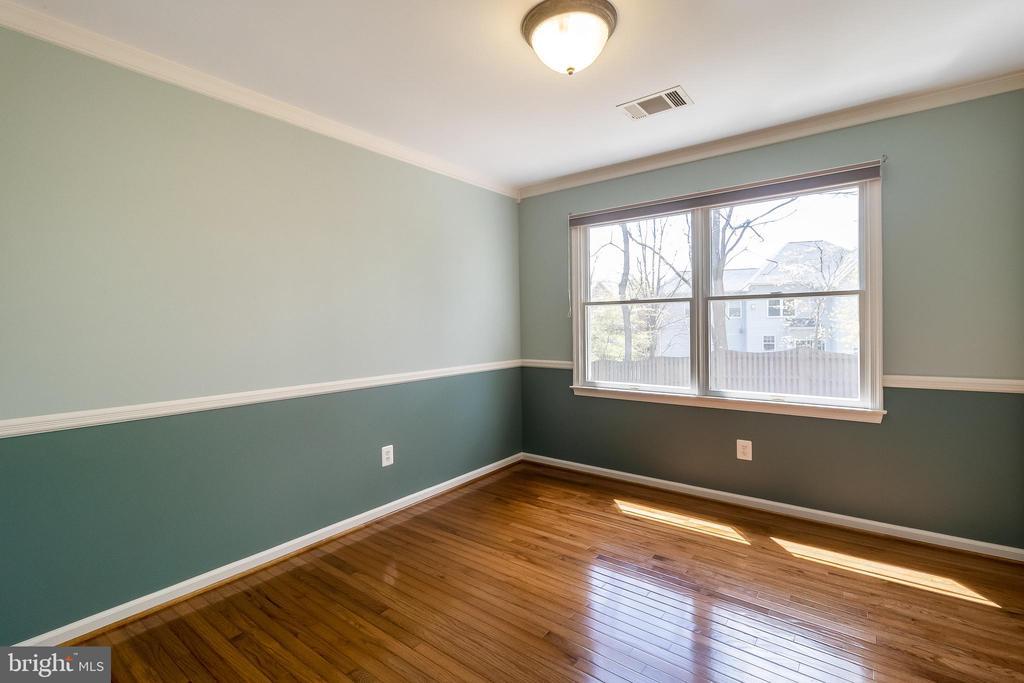 bedroom #4, beautiful hardwoods - 1508 JUDD CT, HERNDON