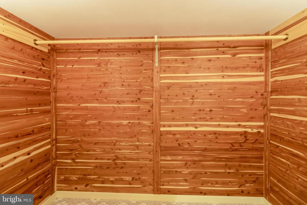 Cedar Closet on lower level - 1508 JUDD CT, HERNDON