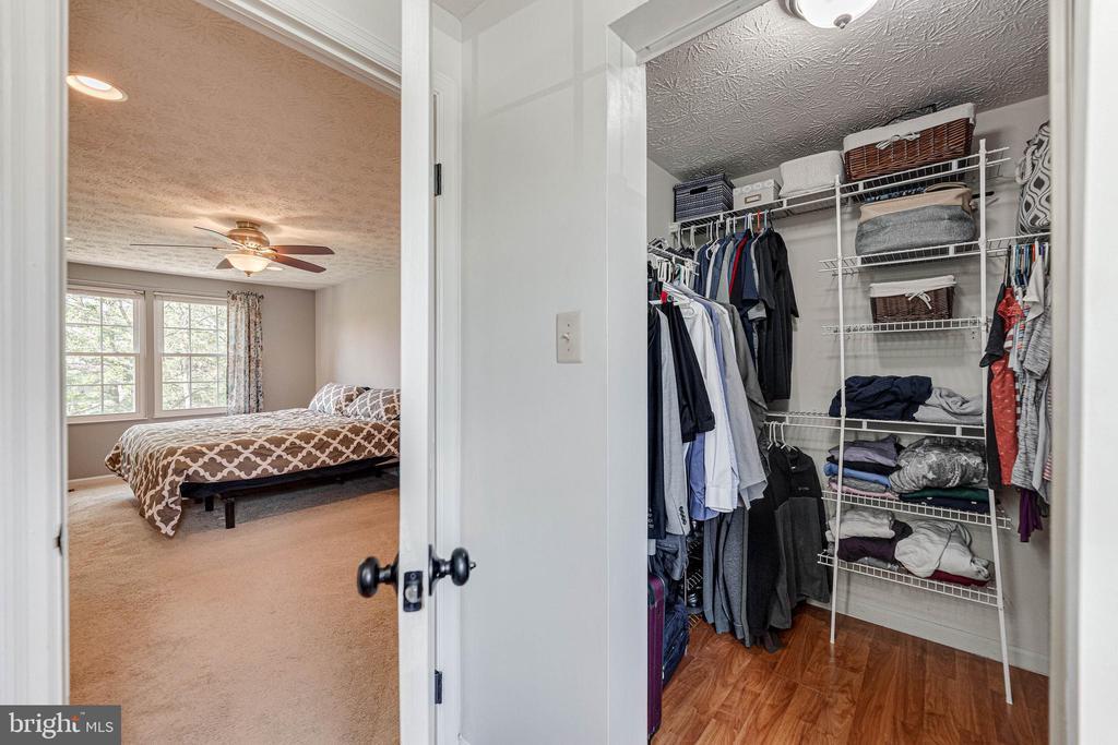 Master walk in closet - 12502 DARDANELLE CT, HERNDON
