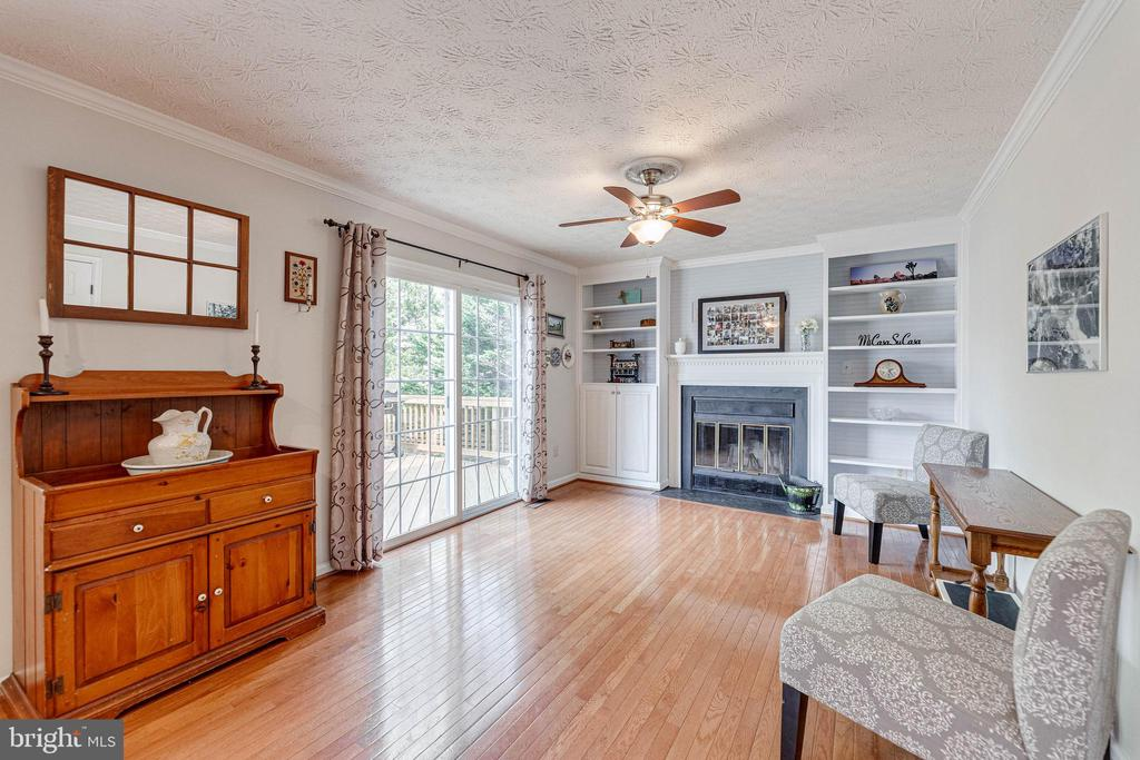 Bright family with wood burning fireplace - 12502 DARDANELLE CT, HERNDON