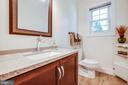 Half bath completes main level - 6055 PONHILL DR, WOODBRIDGE