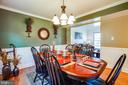 Lots of room for family gatherings in here! - 6055 PONHILL DR, WOODBRIDGE