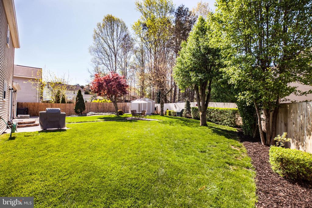 Grass so soft and green you'll never want to leave - 6055 PONHILL DR, WOODBRIDGE