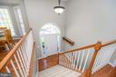 Welcoming foyer with gorgeous door - 623 MT PLEASANT DR, LOCUST GROVE