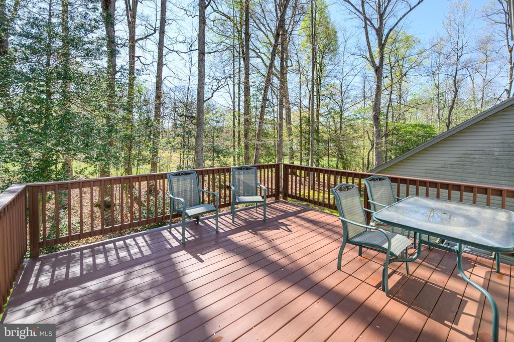 Relax; soak in the sun and the view from your deck - 623 MT PLEASANT DR, LOCUST GROVE