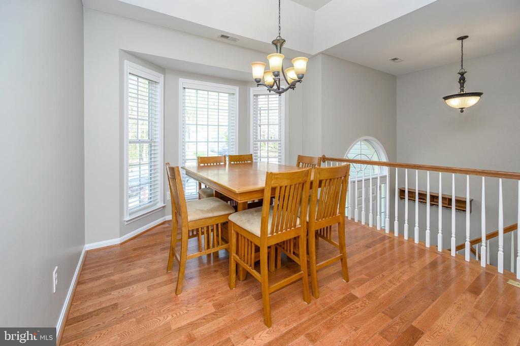 Formal dining room with 3