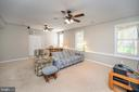 So much you do in this finished family room - 623 MT PLEASANT DR, LOCUST GROVE