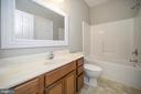 Lower level bath - 623 MT PLEASANT DR, LOCUST GROVE