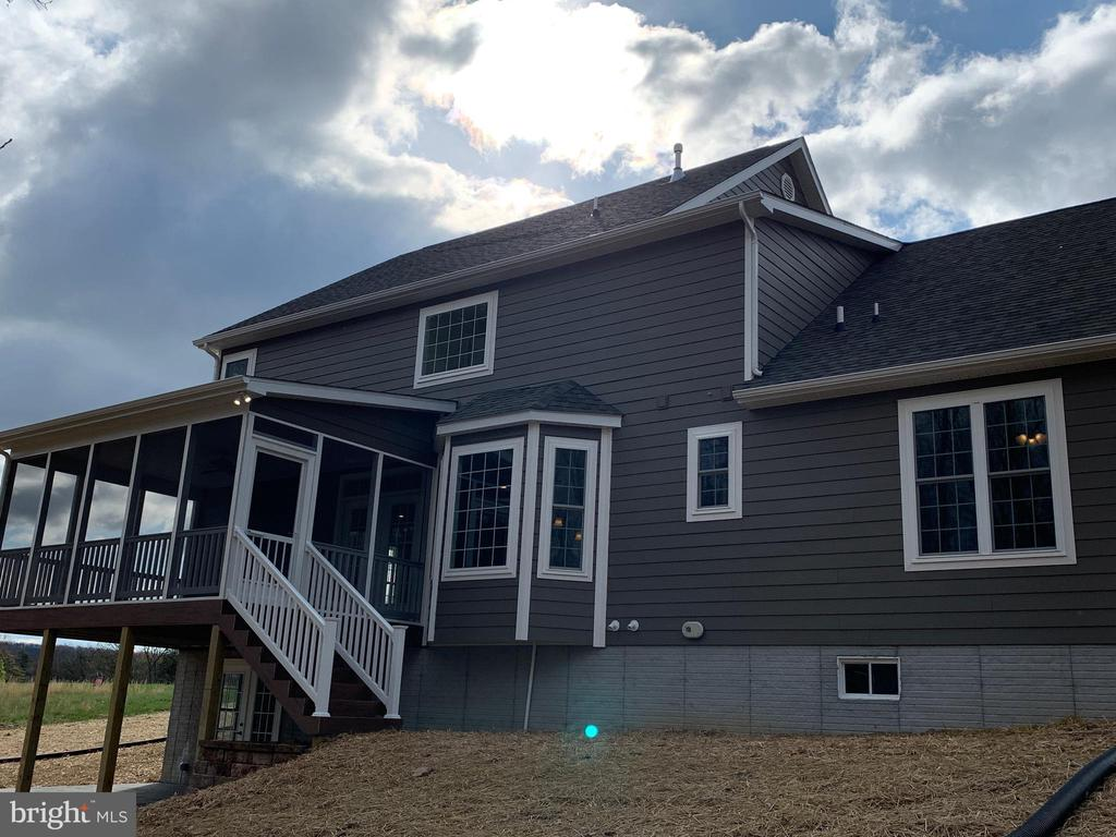 Example Rear of House with Optional Covered Deck - T-24 TRACI'S WAY, WINCHESTER