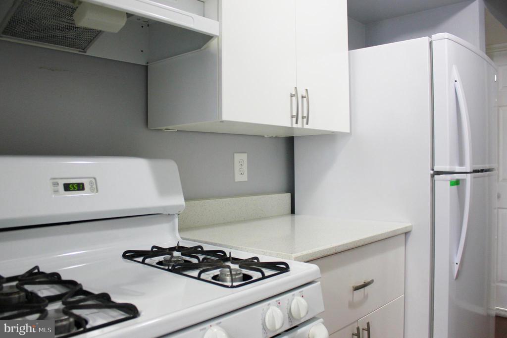 Kitchen Stove and Refrigerator - 102 DUVALL LN #4-104, GAITHERSBURG