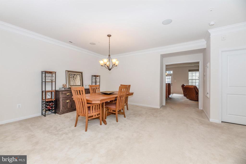 Dining room or living space - 6434 ALAN LINTON BLVD E, FREDERICK