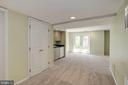 Basement with wet bar - 2421 MILL HEIGHTS DR, HERNDON