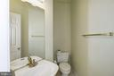 Powder room - 2421 MILL HEIGHTS DR, HERNDON